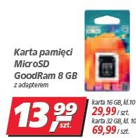 Karta pamięci MicroSD GoodRam 8 GB