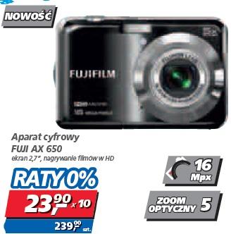 Aparat cyfrowy FUJI AX 650
