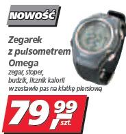 Zegarek z pulsometrem Omega