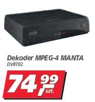 Dekoder MPEG-4 MANTA