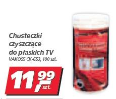 Chusteczki czyszczące do płaskich TV