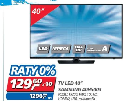 """TV LED 40"""" SAMSUNG 40H5003"""
