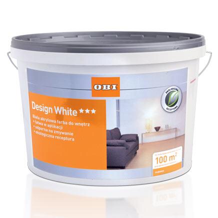 OBI Design White 10 l