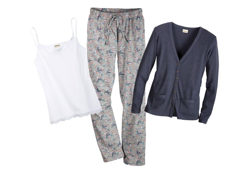 Piżama 3-częściowa damska