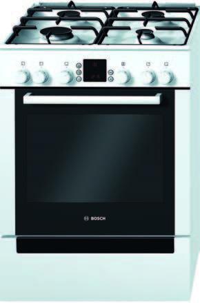 Bosch KUCHNIA HGV745223L/745263L •GAZOWO-ELEKTRYCZNA•Szer. 60 cm •Opiekacz •Automatyczna zapalarka
