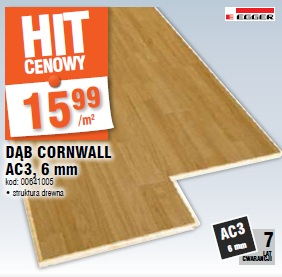 Panel Dąb Cornwall AC3