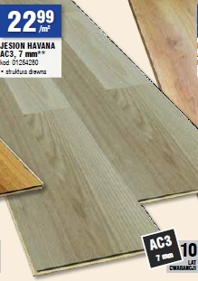 JESION HAVANA AC3, 7 mm