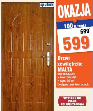 Drzwi zewnętrzne MALTA