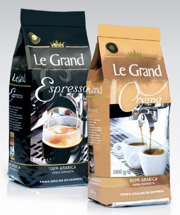 Kawa ziarnista Le Grand, 500 g