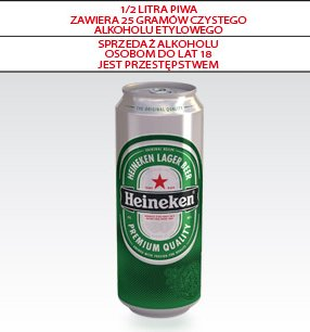 Piwo Heinekem
