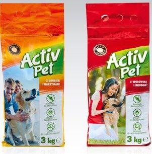 Karma dla psa Activ Pet, 3 kg