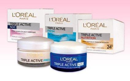 Krem do twarzy Triple Active L'oréal Paris, 50 ml