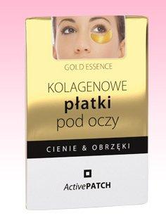 Kolagenowe płatki pod oczy Gold Essence, 10 g