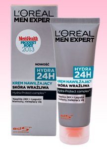 Krem do twarzy Expert 24h L'oréal Paris men, 75 ml