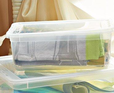 Transparentny pojemnik do przechowywania 5,6 L