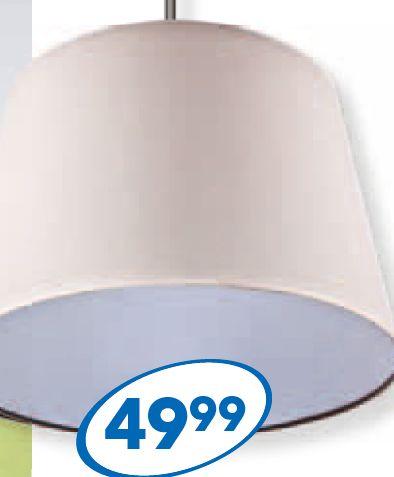 Lampa sufitowa z abazurem