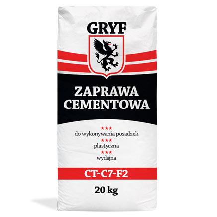 Zaprawa cementowa Gryf