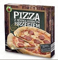 Pizza z wypełnionym brzegiem