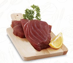 Świeży stek z tuńczyka