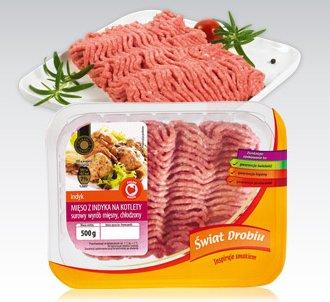 Mięso z indyka na kotlety Świat Drobiu