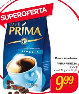 Kawa mielona Prima Finezja