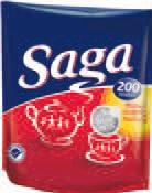 Herbata ekspresowa Saga