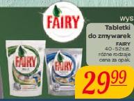 Tabletki do zmywarek  Fairy