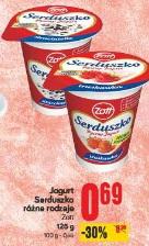 Jogurt Serduszko różne rodzaje Zott
