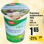 Kremowa śmietankowa 18% Jagr