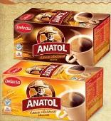 Kawa zbożowa Anatol Delecta różne rodzaje Rieber Foods