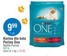 Karma dla kota Purina One Nestle Purina