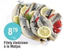 Filety śledziowe a la Matjas