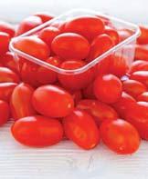 Pomidory mini śliwkowe 250 g wyraziste w smaku