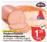 Polędwica Sopocka drobiowo-wieprzowa