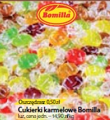 Cukierki karmelowe Bomilla