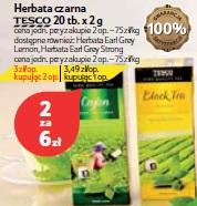 Herbata czarna Tesco 20 tb.x 2 g