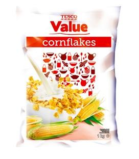 Płatki kukurydziane Value 1 kg
