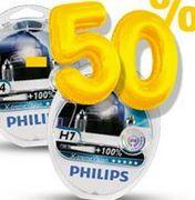Żarówki Philips X-tremeVision H7