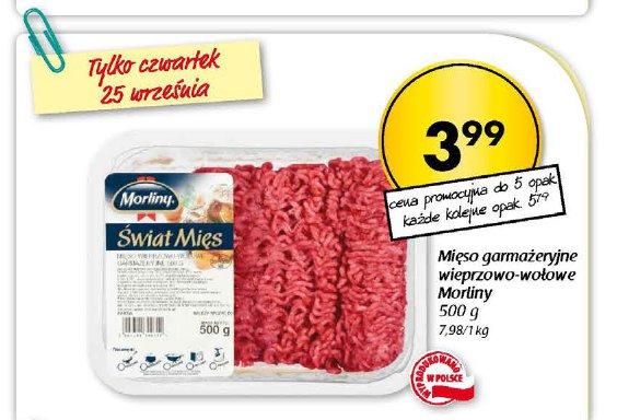 Mięso  garmażeryjne wieprzowo-wołowe Morliny