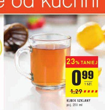 KUBEK SZKLANY poj. 250 ml