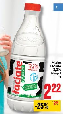 Mleko Łaciate 3,2% Mlekpol