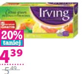 Irving herbata 25 szt.