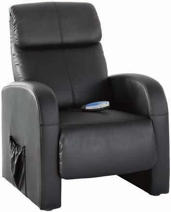 Fotel z masażem Hovborg