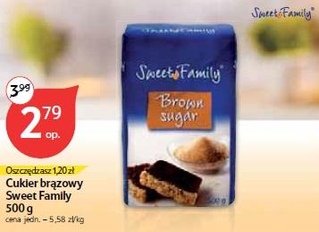 Cukier brązujący Sweet Family 500 g