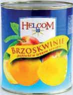 Brzoskwinie połówki Helcom 850 ml