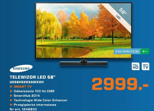 "Samsung Telewizor LED 58 """