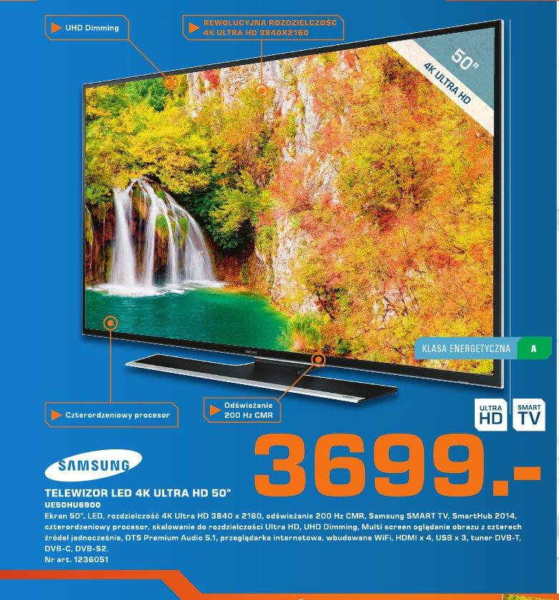"Samsung Telewizor 4K Ultra HD 50 """