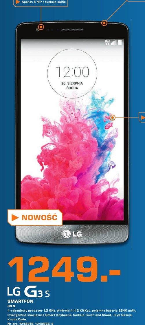 LG G3 S Smartfon G3 S