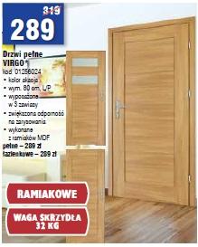 Drzwi pełne VIRGO