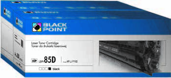 Black Point ZESTAW 2 TONERÓW ZAMIENNIK HP CE285D DO DRUKAREK HP: LASERJET PRO P1102, P1102W, M1132, M1212NF